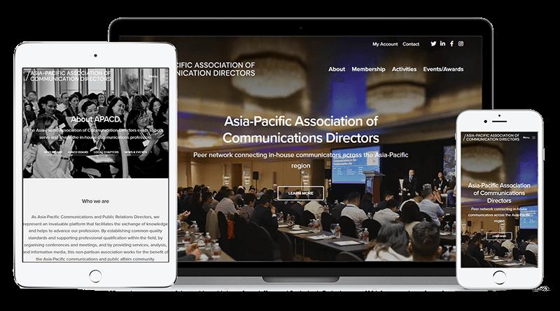 APACD WooCommerce website
